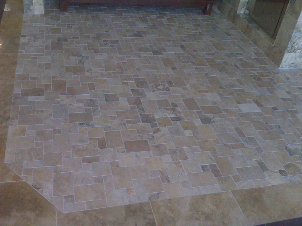Multi Size Stone Floor