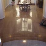 Large Polished Stone Floor