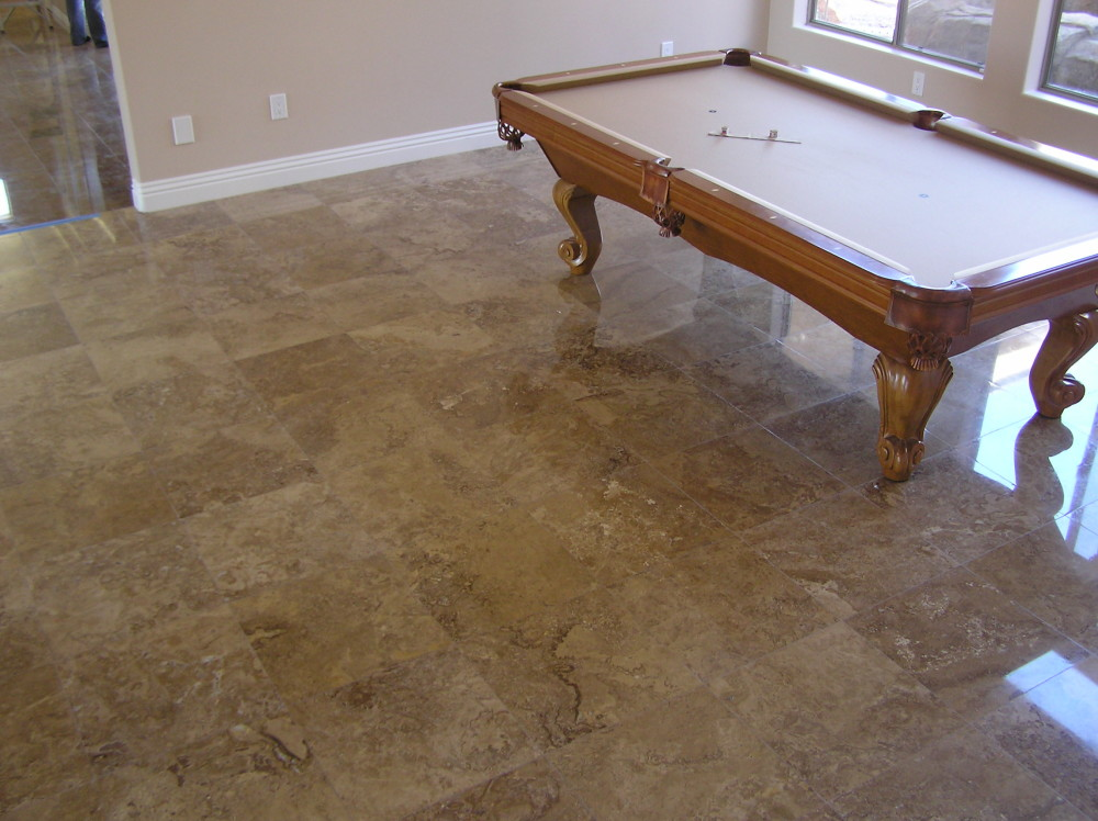 Wall to Wall Tile Flooring