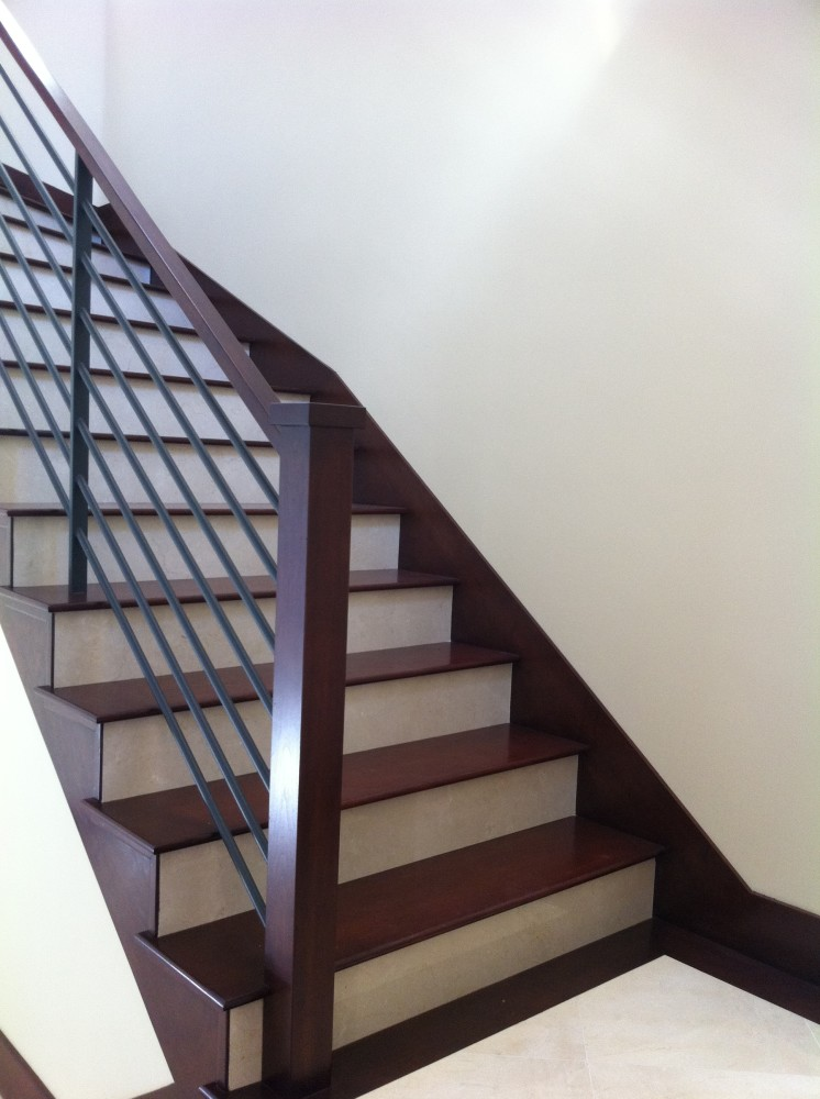 Wood Stairs & Baseboards