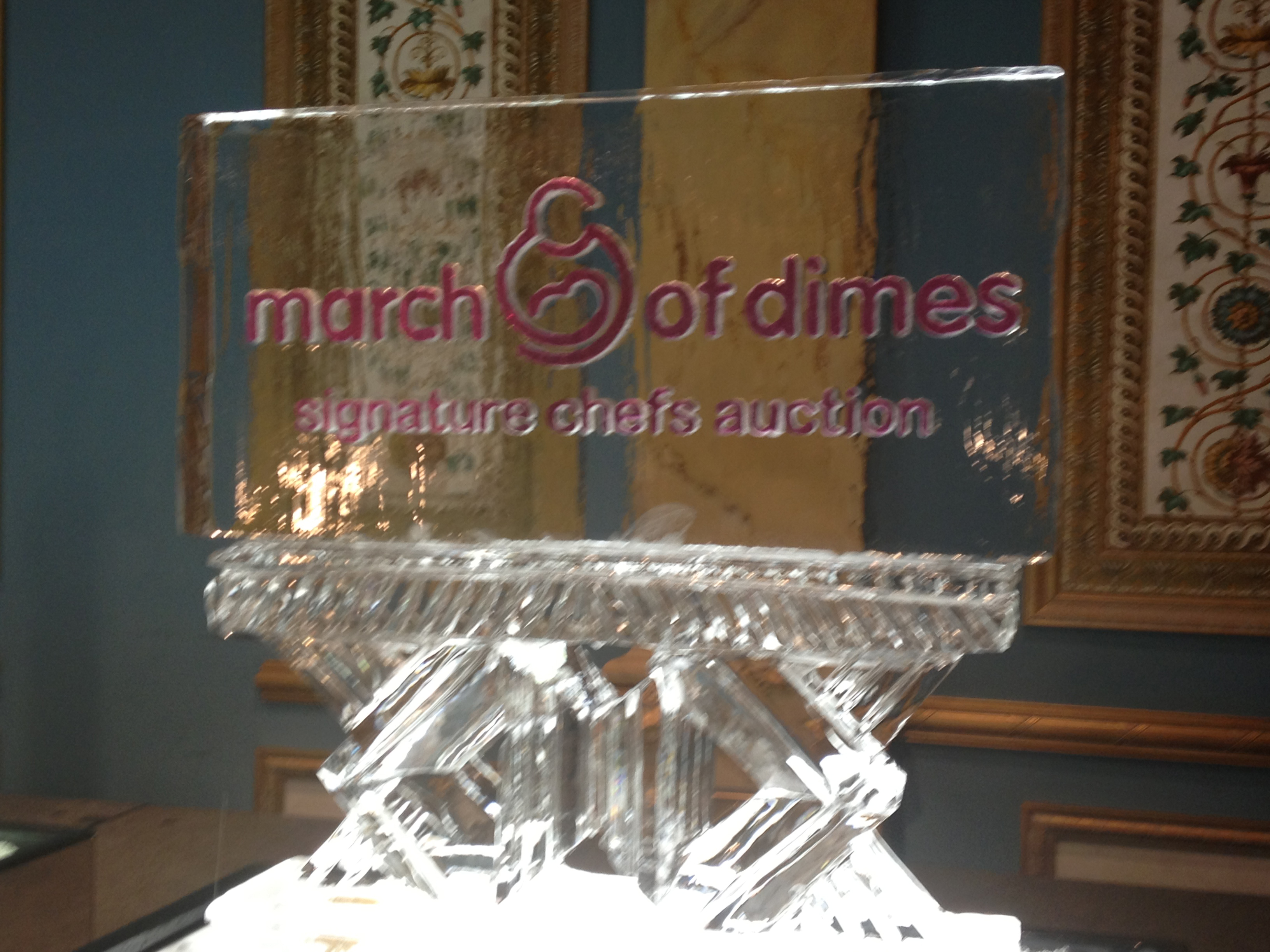 March of Dimes Sig Chef Auction 3 Logo