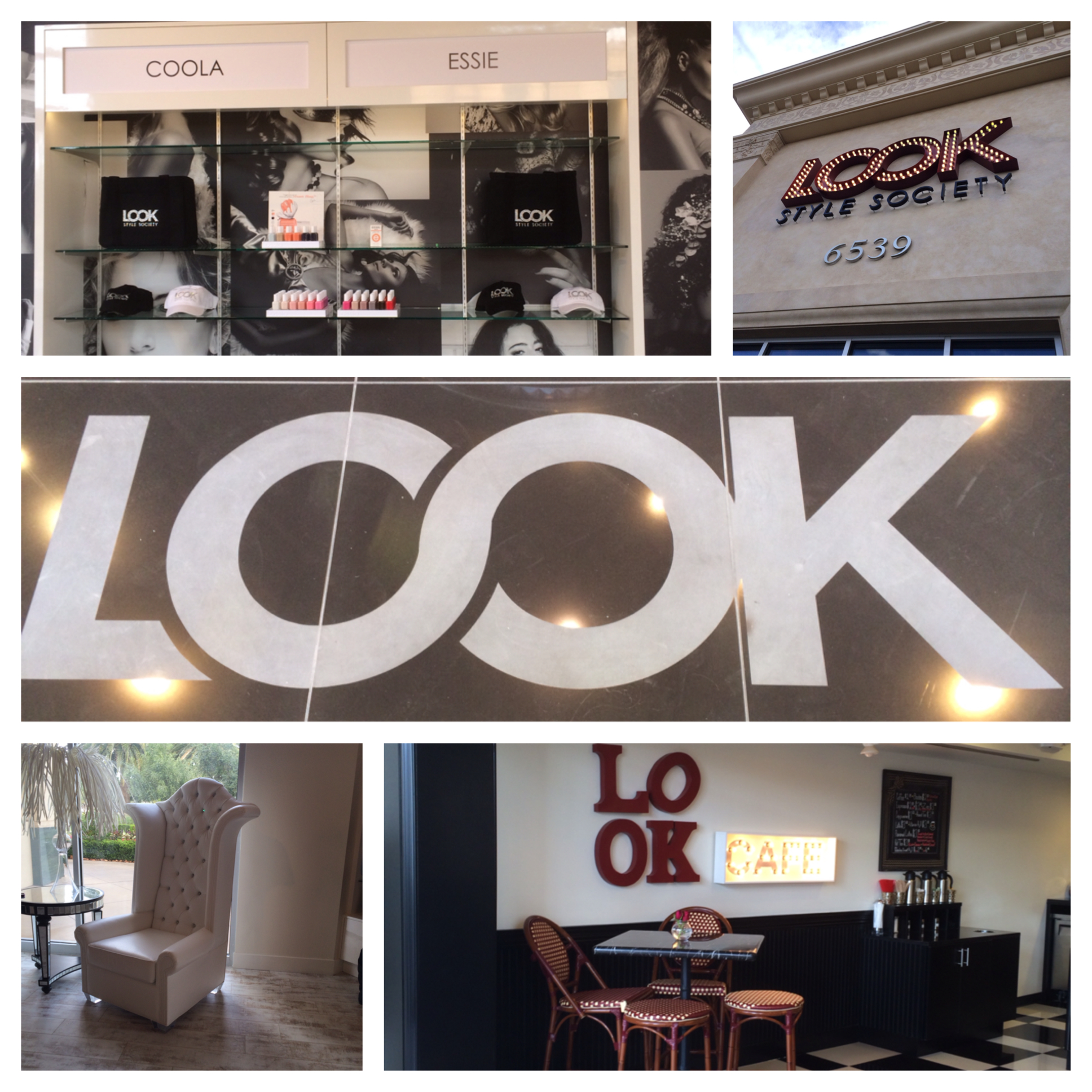 Look Salon Collage