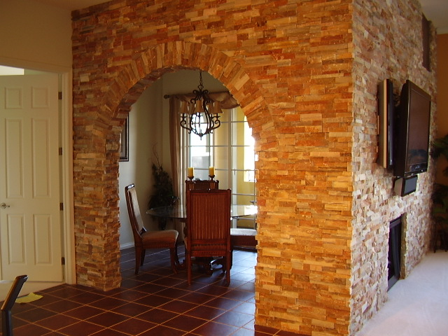 Natural Stone Wall Archway