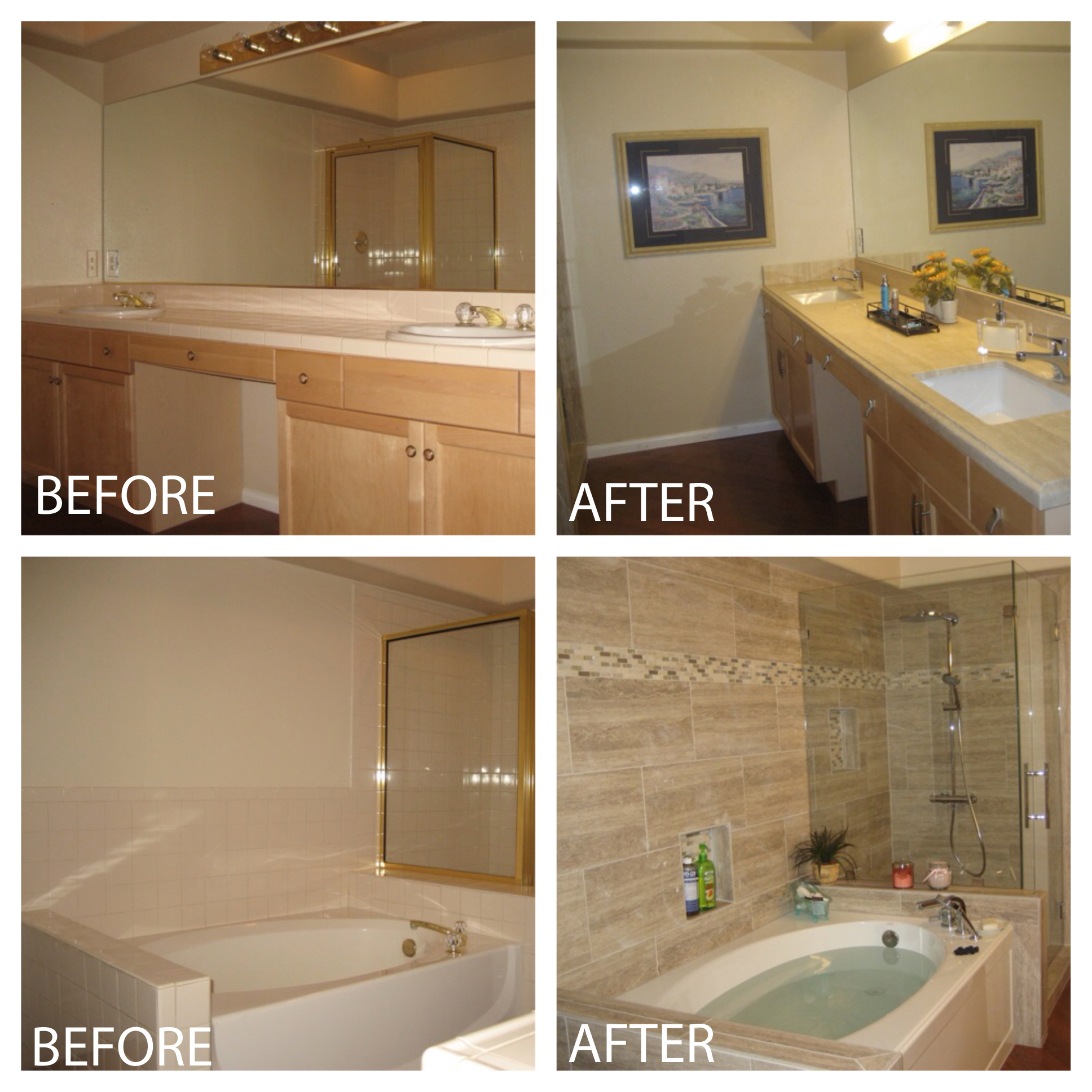 Check out this bathroom revamp!