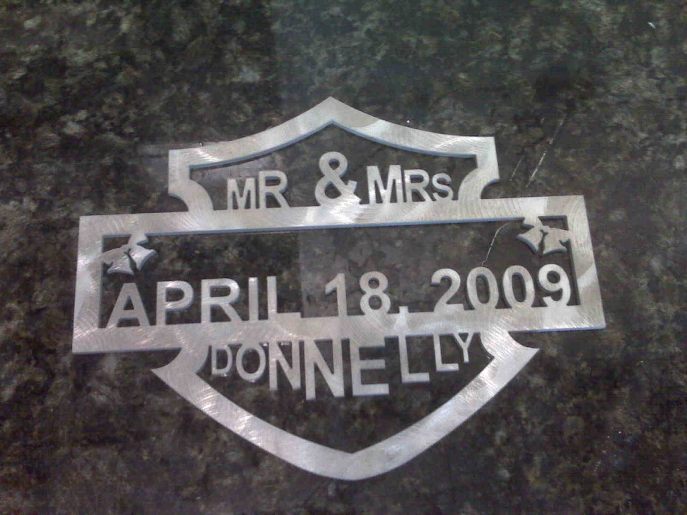 Personalized Stone Medallions