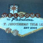 T Brothers Tile Floor Medallion