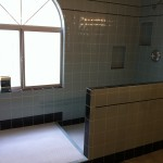 Custom Polished Tile Bathroom