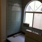 Polished Tile Bathroom